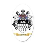 Chesters Oval Car Magnet