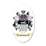 Chesters 20x12 Oval Wall Decal