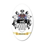 Chesters 35x21 Oval Wall Decal