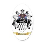 Chesterman Oval Car Magnet