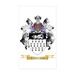 Chesterman Sticker (Rectangle 10 pk)