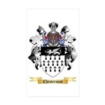 Chesterman Sticker (Rectangle 50 pk)