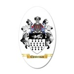 Chesterman 20x12 Oval Wall Decal