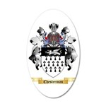 Chesterman 35x21 Oval Wall Decal