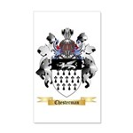 Chesterman 20x12 Wall Decal