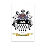 Chesterman 35x21 Wall Decal