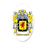 Chesterman 2 Oval Car Magnet