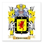 Chesterman 2 Square Car Magnet 3