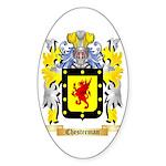 Chesterman 2 Sticker (Oval)