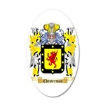 Chesterman 2 35x21 Oval Wall Decal