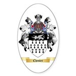 Chester Sticker (Oval 50 pk)