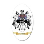 Chester 20x12 Oval Wall Decal