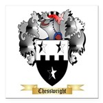 Chesswright Square Car Magnet 3