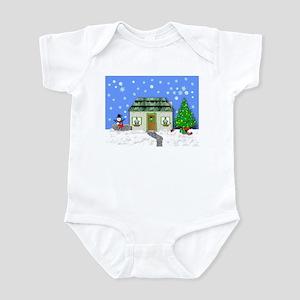 HOME FOR CHRISTMAS Infant Bodysuit
