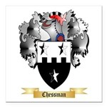 Chessman Square Car Magnet 3