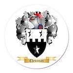 Chessman Round Car Magnet