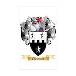 Chessman Sticker (Rectangle 50 pk)