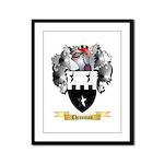 Chessman Framed Panel Print