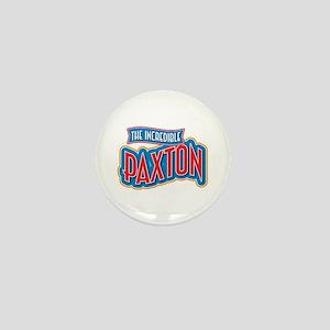 The Incredible Paxton Mini Button