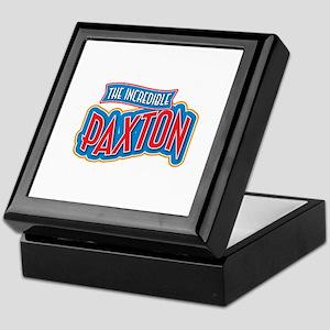 The Incredible Paxton Keepsake Box