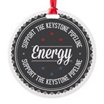 Support The Keystone Pipeline Ornament