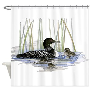 Loon Shower Curtains