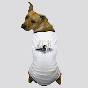 Loon and baby Dog T-Shirt