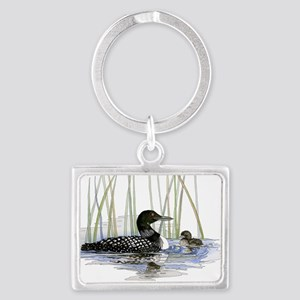 Loon and baby Keychains