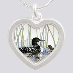 Loon and baby Necklaces