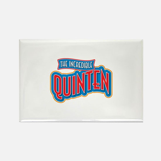 The Incredible Quinten Rectangle Magnet