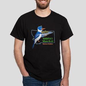 Montana Audubon Habitat: Where It's At T-Shirt