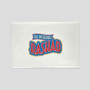 The Incredible Rashad Rectangle Magnet