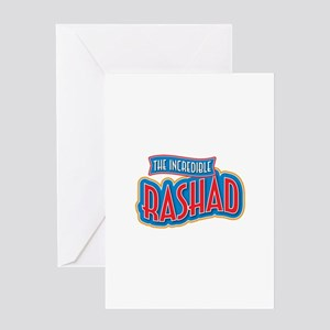 The Incredible Rashad Greeting Card