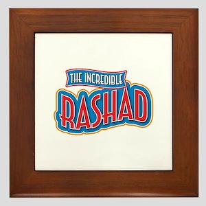The Incredible Rashad Framed Tile