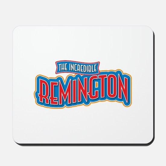 The Incredible Remington Mousepad
