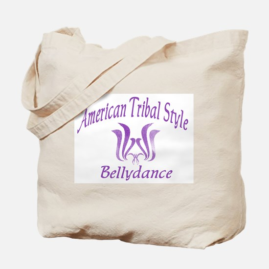 ATS Lotus Purple Tote Bag