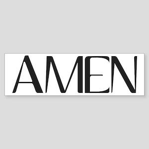 AMEN3 Bumper Sticker