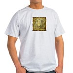 Celtic Letter Q Ash Grey T-Shirt