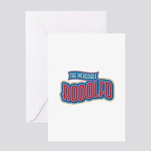 The Incredible Rodolfo Greeting Card