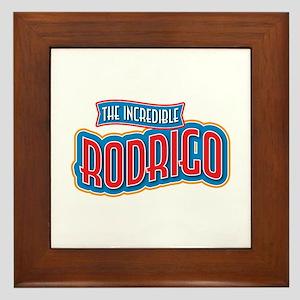 The Incredible Rodrigo Framed Tile