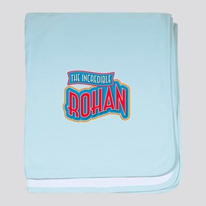 The Incredible Rohan baby blanket