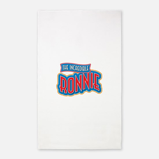 The Incredible Ronnie 3'x5' Area Rug