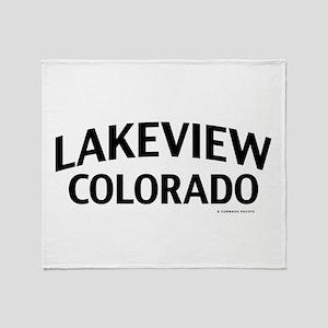 Lakeview Colorado Throw Blanket