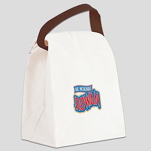 The Incredible Rowan Canvas Lunch Bag