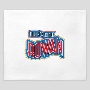 The Incredible Rowan King Duvet