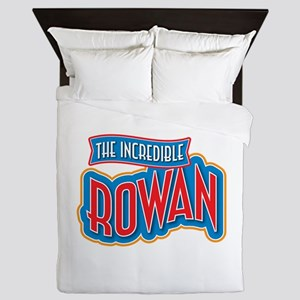 The Incredible Rowan Queen Duvet