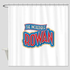 The Incredible Rowan Shower Curtain