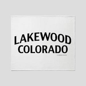 Lakewood Colorado Throw Blanket