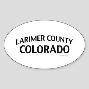 Larimer County Colorado Sticker
