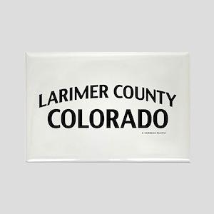 Larimer County Colorado Rectangle Magnet